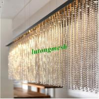2015 Fashion Partition 6mm Gold Stainless Steel Ball Chain Curtain metal bead curtain