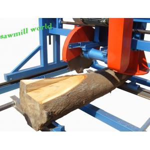 China Double Blades Wood Cutting Used Angle Circular Saw Portable Swing Blade Sawmill on sale