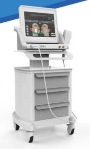 China Portable HIFU Beauty Machine / High Intensity Focused Ultrasound For Face Lifting on sale
