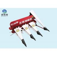 China Red + White Paddy Reaper Machine , Small Wheat Cutting Machine With Tractor on sale