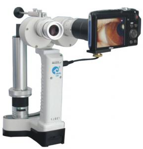 China KJ5S3 Digital Portable Slit Lamp Rechargeable Hand held Slit Lamp Ophthalmic Microscope on sale