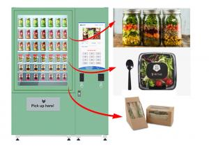 China Winnsen Belt Cupcake Vending Machine Fruit Vegetables Vending Lockers With Lift System on sale