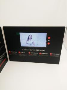 China 2.4'/2.8'/4.3'/5'/7'/10' Lcd Video Business Cards with light sensor on sale