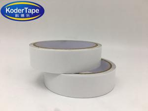 China Tissue Coated With Water Based Easy Tear Double Sided Adhesive Tape on sale