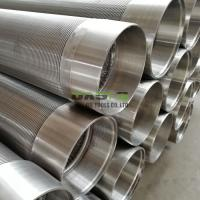China China Manufacturer of stainless steel johnson well casing screen pipe on sale