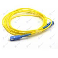 9/125μM Single Mode Fiber Jumpers Simplex SC To SC Interchangeability ≤0.2dB