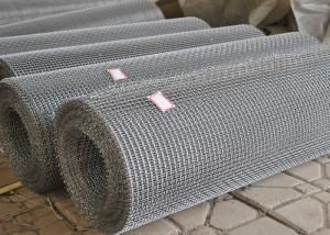 China 304 Stainless Steel Wire Mesh Woven For Mine Sieving , Size Custom on sale