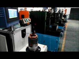 China 固定子アセンブリはコイルの組立部品のコイルの単一の側面の綴じひもの螺旋綴じ機械を集中しました on sale