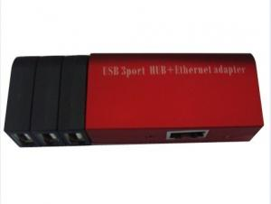 China 3 ports et hub d'Aadapter USB d'Ethernet (SY-HB-80) on sale