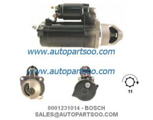 China 0001231014 0001360061 - BOSCH Starter Motor 24V 4KW 11T MOTORES DE ARRANQUE on sale
