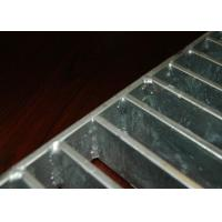 Swaged Pressure Steel Step Treads , Black Locked Metal Treads For Steps