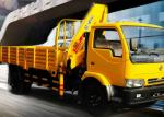 Durable 4 Ton Lorry Mounted Crane Architecture Truck ,Driven By Hydraulic