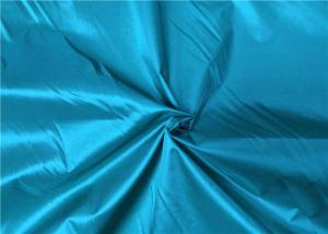 Quality Washable 190T Nylon Taffeta Waterproof 70 * 70D Yarn Count 58 Gsm for sale