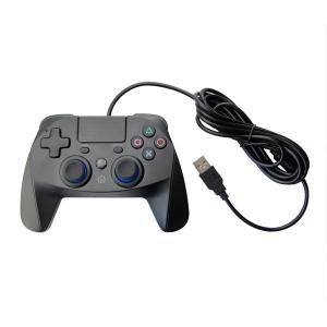Quality Black Color for PS4 Wired Gamepad Joystick with Touch for Ps4 Game Controller for sale