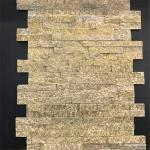Yellow Slate Culture Stone Natural Stone Tiger SKin Ledge Stone 150×600mm
