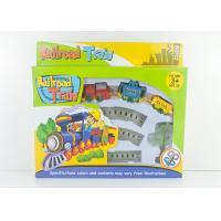 Mini Wind Up Classic Train Set Kids Toy Vehicles with Railway Track 8 Pcs