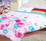 China Home Textile Floral Bedding Sets Reactive Printed Cotton With Quilt Cover wholesale
