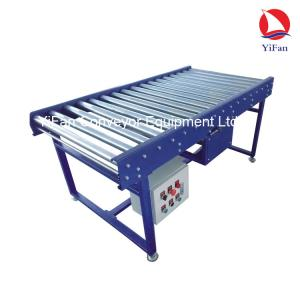 Powered Roller Conveyor System in warehouse, new factory, workshops