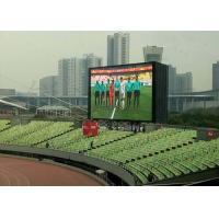 Video Show Outdoor Led Video Display Board6mm Pixel Pitch IP65 / IP54 Multi - Use