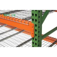 Metal Teardrop Pallet Rack Uprights , Selective Pallet Racking Systems America & Europe Style