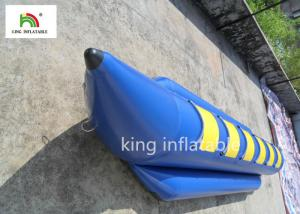 China 6 Seats Blue Inflatable Fly Fishing Boats Water Boat PVC Tarpaulin on sale