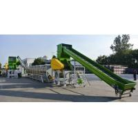 China plastic recycling machinery on sale