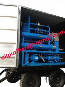 China mobile and outdoor oil filtration machine mounted 4 wheels,Easily-Mobile Trailer Insulating Oil Purifier With Full Cover on sale