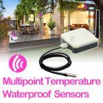 Capteurs imperméables sans fil de la température multipoint de petite taille