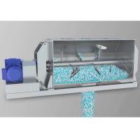 Big Size Single Shaft Paddle Mixer 0.3cbm-20cbm Capacity With U Shaped Container