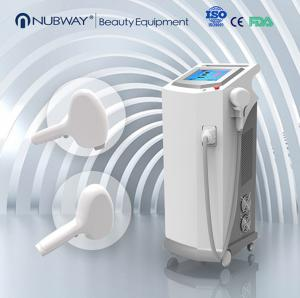 China Vertical super power 808nm Diode laser hair removal Machine for large salon on sale
