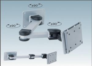 China Customized 10 inch - 25 inch TV Wall Mount Brackets CE RoHs Certification on sale