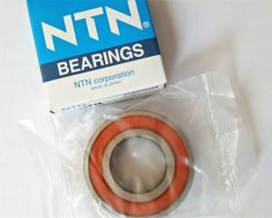 China P6 High Precision Deep Groove Ball Bearing NTN 6205LLU 25 * 52 * 15mm For Reduction Gears on sale
