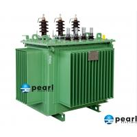 China Hermetically Sealed , Compact Size , Oil Distribution Transformer , Auxiliary Transformer , 10.5KV - 3000KVA on sale