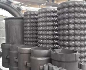 China Reaction Boned Silicon Carbide Heat Exchanger Use In Waste Heat Recovery on sale