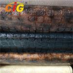 Colorful Pvc Leather Fabric , Upholstery Pvc Leather Anti Mildew 0.6mm -1.2mm