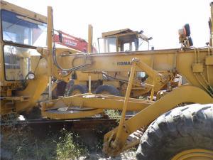 GD661A-1 Used KOMATSU Grader / Road Grader KOMATSU S6D105 Engine