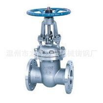 China Stainless Steel Solid Wedge Gate valve 316 Flange with Rising Stem on sale
