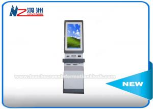 China Dual Core Interactive Information Touch Screen Kiosk , Interactive Wayfinding Kiosk With Keyboard on sale