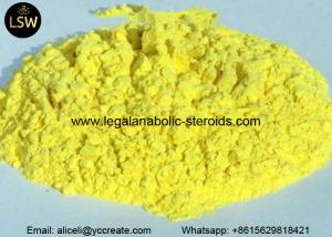 China Trenbolone Acetate Pale Yellow Powder Hormone Revalor - H for Muscle Building CAS 10161-34-9 on sale