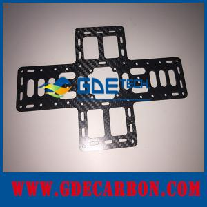 China custom Carbon fiber parts cnc cutting for UAV on sale