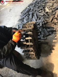 China Premium Tooling Steel Plastic Machine Parts Plastic Pulverizer Mill Blade on sale