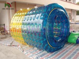 China Walking On Inflatable Water Toy , Inflatable Fun Roller By 2.8m Long And 2.4m Diameter on sale