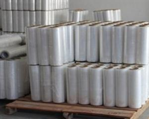 China machine use pe stretch film for pallet wrapping / LLDPE wrap film,pe packaging film,pe pla on sale