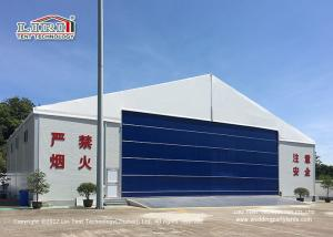 China 30M Temporary Outdoor  Aircraft Airplane Hangar Tent with Hard Wall on sale