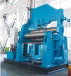 W12 prensa de batir plateada de metal de acero del rodillo del CNC cuatro
