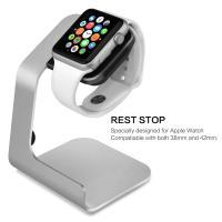 China Aluminium Apple Watch Dock Station Holder White Painting Better Stabilization on sale
