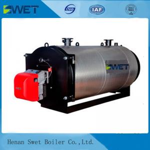 China Low Emission Industrial Gas Fired Steam Boilers Fully Automatic Operation on sale