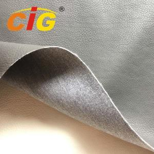 China Car / Sofa Seat Cover Pu Synthetic Leather 1.0mm Thickness 65% Pu 35% Polyester on sale