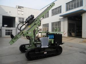 China Crawler drilling rig for piling anchor, water Wells, photovoltaic solar spiral pile, DT on sale