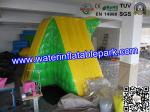 China Sea Or Lake Inflatable Water Park Toy / 0.9mm PVC Tarpaulin Floating Climbing wholesale
